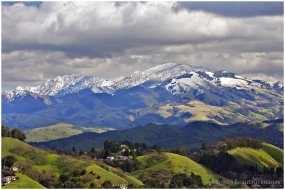 Winter - MtDiablo Snow